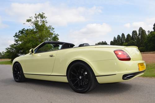 2010 BENTLEY GTC SUPERSPORTS For Sale (picture 4 of 6)