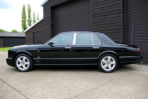 2005 Bentley Arnage 6.8 T Saloon Automatic (48,352 miles) SOLD (picture 1 of 6)