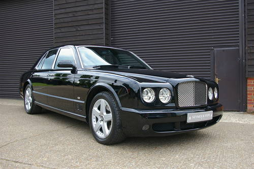 2005 Bentley Arnage 6.8 T Saloon Automatic (48,352 miles) SOLD (picture 2 of 6)