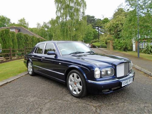 Bentley Arnage Red Label 2000 X Reg   66800 Miles Top Spec SOLD (picture 1 of 6)