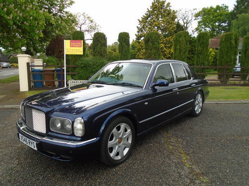 Bentley Arnage Red Label 2000 X Reg   66800 Miles Top Spec SOLD (picture 2 of 6)