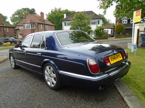 Bentley Arnage Red Label 2000 X Reg   66800 Miles Top Spec SOLD (picture 5 of 6)