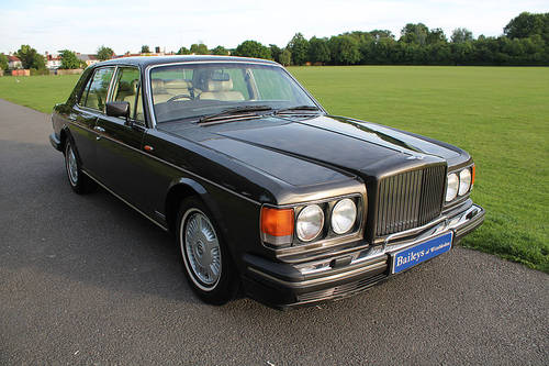 1990 Wonderful Bentley Mulsanne 'S' With Comprehensive History  For Sale (picture 1 of 6)