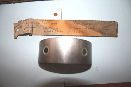 1953 Set RH2088 4.5 +10 NOS Main Bearings For Sale (picture 3 of 4)