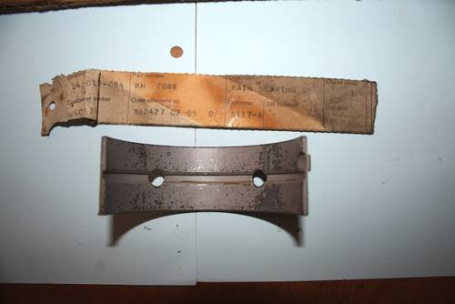 1953 Set RH2088 4.5 +10 NOS Main Bearings For Sale (picture 4 of 4)