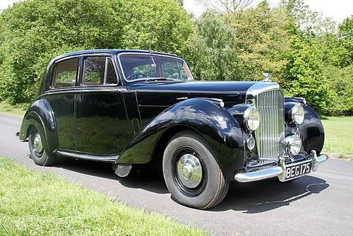 1952 Bentley 4.6 Mk 6 (Only 62,000 Miles) For Sale (picture 1 of 6)