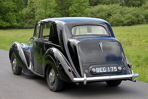 1952 Bentley 4.6 Mk 6 (Only 62,000 Miles) For Sale (picture 2 of 6)