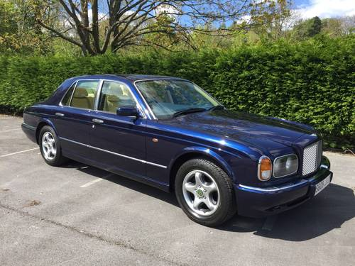 1998 Bentley Arnage 4.4 Green label  SOLD (picture 1 of 6)