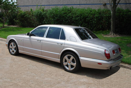2003 Bentley Arnage Red Label Twin Turbo Sedan For Sale (picture 4 of 6)