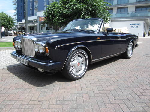 1990 Bentley Continental Convertible For Sale (picture 2 of 6)