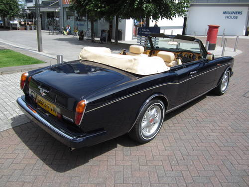 1990 Bentley Continental Convertible For Sale (picture 4 of 6)