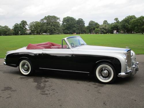 1955 Bentley S1 Continental Drophead Coupe (Adaptation) For Sale (picture 1 of 1)