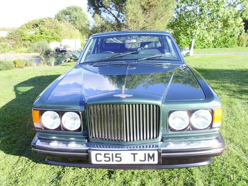 1986 Bentley Turbo R For Sale Car And Classic