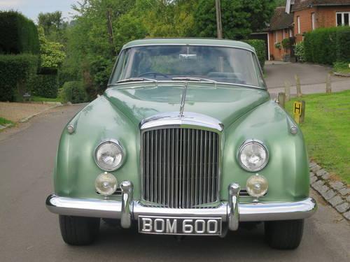 1961 Bentley S II Continental 2 Door Coupe  By H.J. Mulliner SOLD (picture 2 of 6)