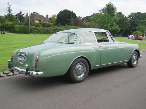 1961 Bentley S II Continental 2 Door Coupe  By H.J. Mulliner SOLD (picture 3 of 6)