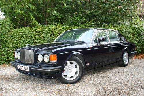 1989 BENTLEY TURBO R - EXCELLENT VALUE - PERFECT WEDDING CAR SOLD (picture 1 of 6)