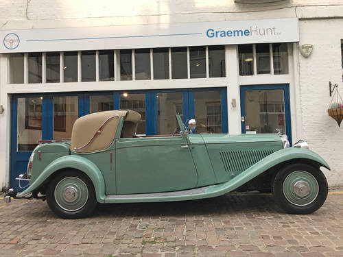 1935 Bentley 3.5 Sedanca by J Gurney Nutting SOLD (picture 1 of 6)