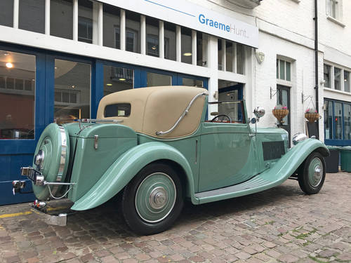 1935 Bentley 3.5 Sedanca by J Gurney Nutting SOLD (picture 4 of 6)