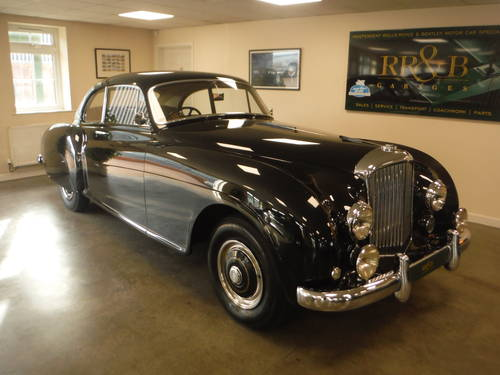 1953 Bentley R Type Continenal H J Mulliner For Sale (picture 1 of 6)