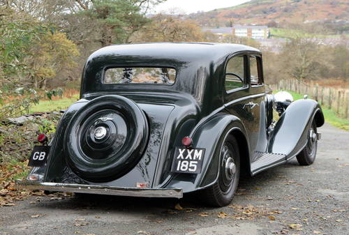 1937 Bentley 4 ¼ Ltr Kellner Pillarless Sports Saloon B97HM For Sale (picture 2 of 6)