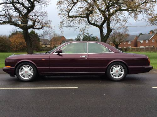 BENTLEY CONTINENTAL R MULLINER PARK WARD £41995 SOLD (picture 1 of 6)