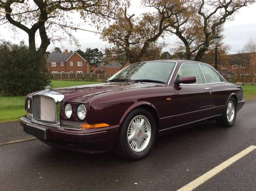BENTLEY CONTINENTAL R MULLINER PARK WARD £41995 SOLD (picture 2 of 6)