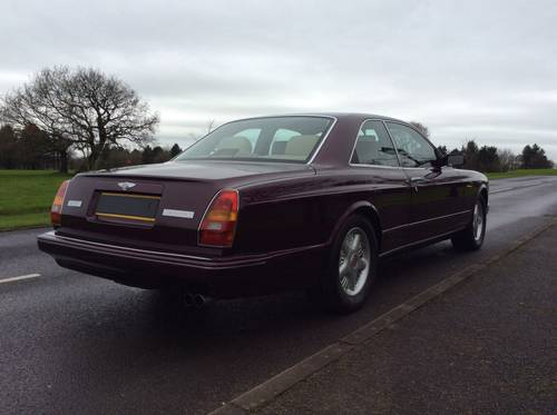 BENTLEY CONTINENTAL R MULLINER PARK WARD £41995 SOLD (picture 3 of 6)