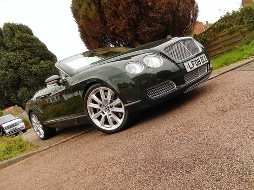 2008 STUNNING GTC rarely found in BRG with Magnolia -- Mulliner  SOLD (picture 4 of 6)