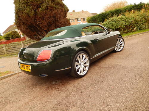 2008 STUNNING GTC rarely found in BRG with Magnolia -- Mulliner  SOLD (picture 5 of 6)