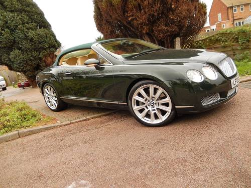 2008 STUNNING GTC rarely found in BRG with Magnolia -- Mulliner  SOLD (picture 6 of 6)