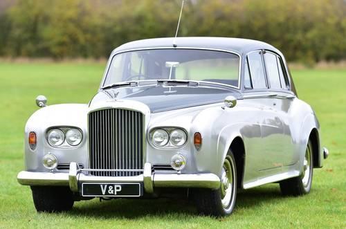1963 Bentley S3 Standard Steel Saloon SOLD (picture 1 of 6)