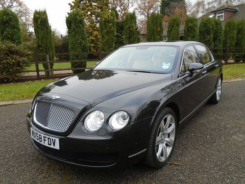 2008 BENTLEY FLYING SPUR 08/58 REG ONLY 5,620 MILES  SOLD (picture 2 of 6)