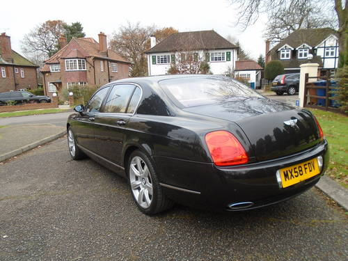 2008 BENTLEY FLYING SPUR 08/58 REG ONLY 5,620 MILES  SOLD (picture 5 of 6)