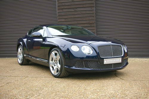2012 Bentley Continental 6.0 W12 GT MULLINER (25,431 miles) SOLD (picture 2 of 6)