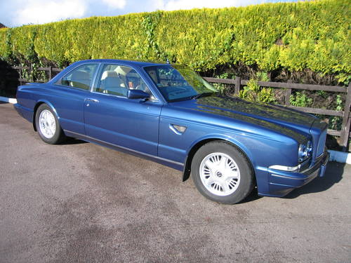 1992 Bentley Continental R SOLD (picture 1 of 6)