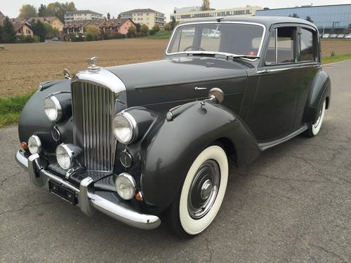 1955 BENTLEY MK VI Saloon RHD For Sale (picture 2 of 6)