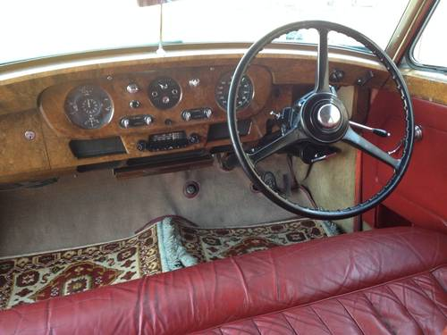 1955 BENTLEY MK VI Saloon RHD For Sale (picture 6 of 6)
