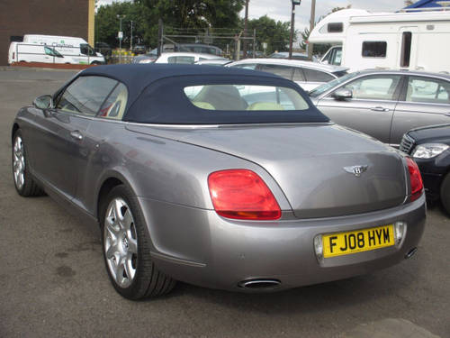 2008 BENTLEY CONTINENTAL 6.0 GTC 2d AUTO 550 BHP For Sale (picture 4 of 6)