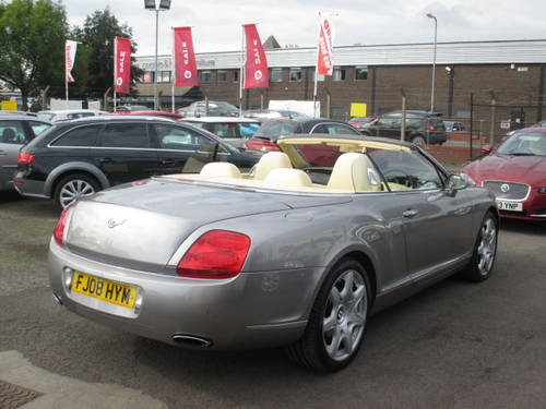 2008 BENTLEY CONTINENTAL 6.0 GTC 2d AUTO 550 BHP For Sale (picture 6 of 6)
