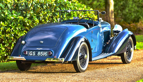 1937 Derby Bentley 4.25 Liter Overdrive MR Series For Sale (picture 2 of 6)