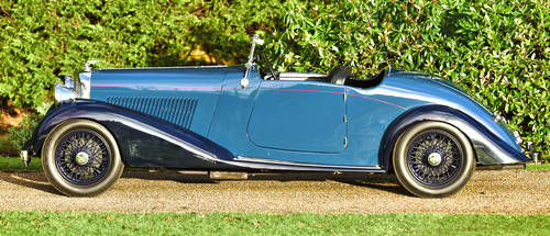 1937 Derby Bentley 4.25 Liter Overdrive MR Series For Sale (picture 3 of 6)