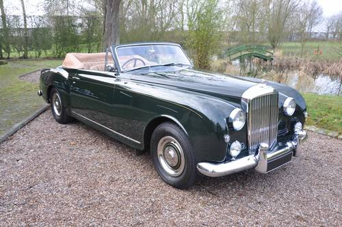 1957 Bentley S1 Continental Drophead - Immaculate condition For Sale (picture 1 of 6)
