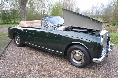 1957 Bentley S1 Continental Drophead - Immaculate condition For Sale (picture 2 of 6)