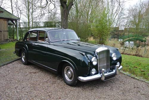 1956 Bentley S1 Sports Saloon (Rare 7401 suicide door model) For Sale (picture 1 of 6)