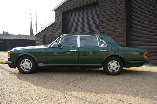 1989 Bentley 6.75 Mulsanne S Automatic Saloon (7,547 miles) SOLD (picture 1 of 6)