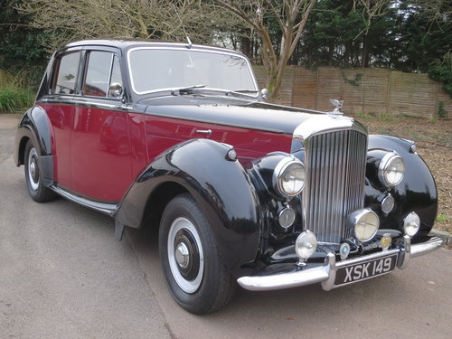 1955 Bentley R Type Standard Steel Saloon Auto  For Sale (picture 1 of 6)