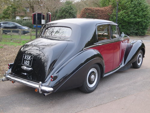 1955 Bentley R Type Standard Steel Saloon Auto  For Sale (picture 3 of 6)