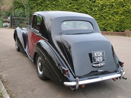 1955 Bentley R Type Standard Steel Saloon Auto  For Sale (picture 4 of 6)