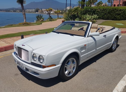 2002 BENTLEY AZURE MULLINER SYMBOLIC - 10088 MILES ONLY For Sale (picture 1 of 6)