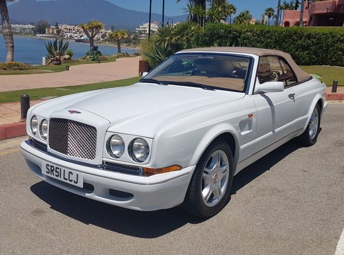 2002 BENTLEY AZURE MULLINER SYMBOLIC - 10088 MILES ONLY For Sale (picture 2 of 6)